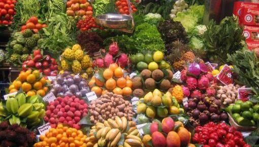 Wochenmarkt von Aluthgama - Sri Lanka Westküste