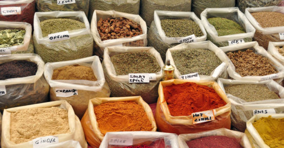 Gewürzmarkt Sri Lanka - die Gewürze kennenlernen