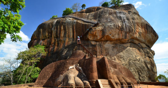 Sigiriya Lion Rock Festung in Sri Lanka