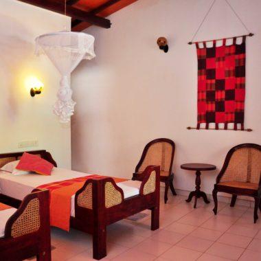 Einzelbetten oder Queensizebetten für jeden Geldbeutel auf Sri Lanka - Ypsylon Resort