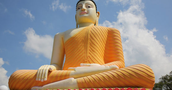 Tempelanlagen Aluthgama oder Kalutara