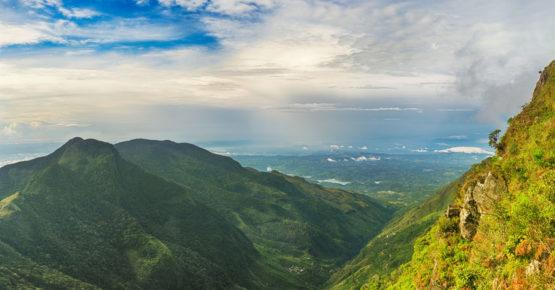 Das ende der Welt. Horton Plains Sri Lanka